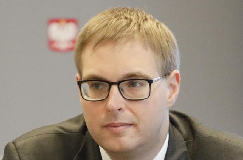 Jan Sarnowski, wiceminister finansów /Grzegorz Banaszek /Reporter