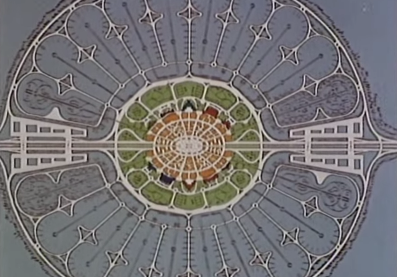 plan miasta epcot